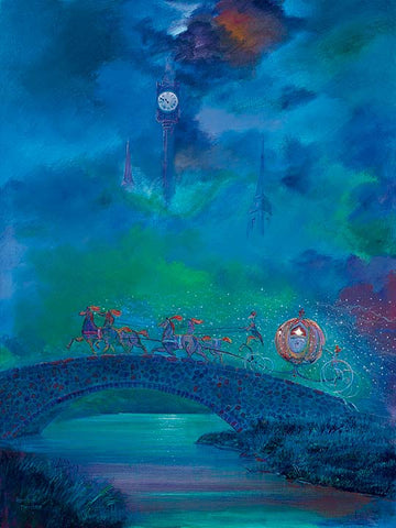 "Harrison Ellenshaw Disney ""Before Midnight"" Limited Edition Canvas Giclee"