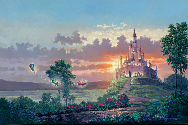 "Rodel Gonzalez Disney ""Blessings for the Princess"" Limited Edition Canvas Giclee"