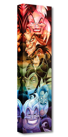 "Tom Matousek Disney ""Colors of Evil"" Limited Edition Canvas Giclee"