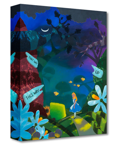 "Michael Provenza Disney ""Curiourser"" Limited Edition Canvas Giclee"