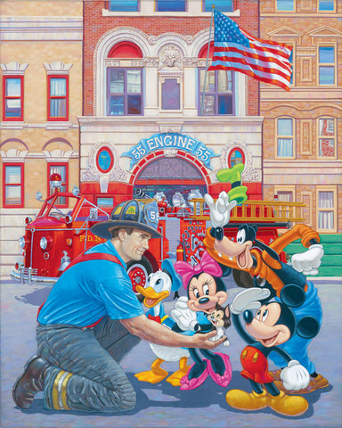 "Manuel Hernandez Disney ""Engine 55"" Limited Edition"