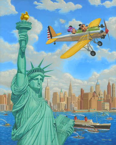 "Manuel Hernandez Disney ""Freedom Flight"" Limited Edition Canvas Giclee"