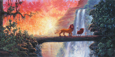 "Rodel Gonzalez Disney ""Hakuna Matata"" Limited Edition Canvas Giclee"