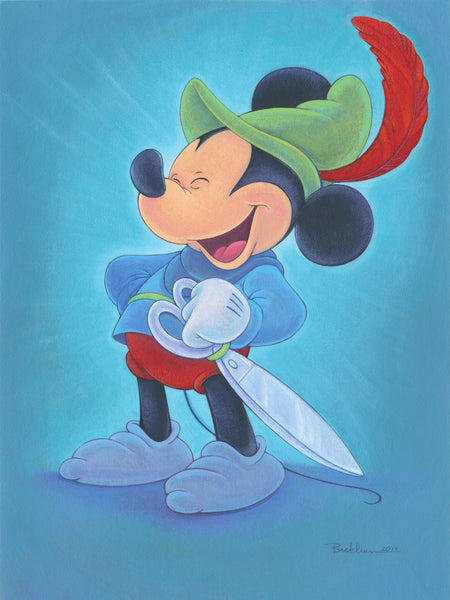 "Bret Iwan Disney ""Happy Hero"" Limited Edition Canvas Giclee"
