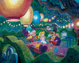 "Harrison Ellenshaw Disney ""Mad Hatter's Tea Party"" Limited Edition"