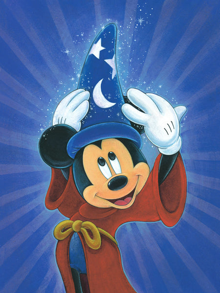 "Bret Iwan Disney ""Magic is in the Air"" Limited Edition Canvas Giclee"