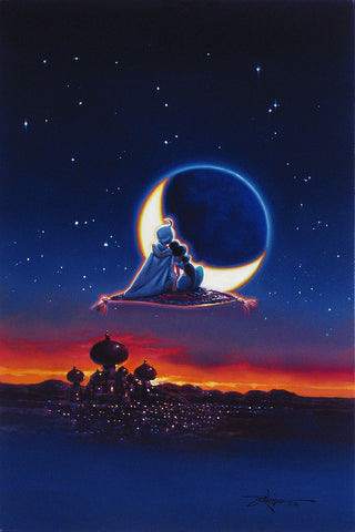 "Rodel Gonzalez Disney ""Magical Journey"" Limited Edition Canvas Giclee"