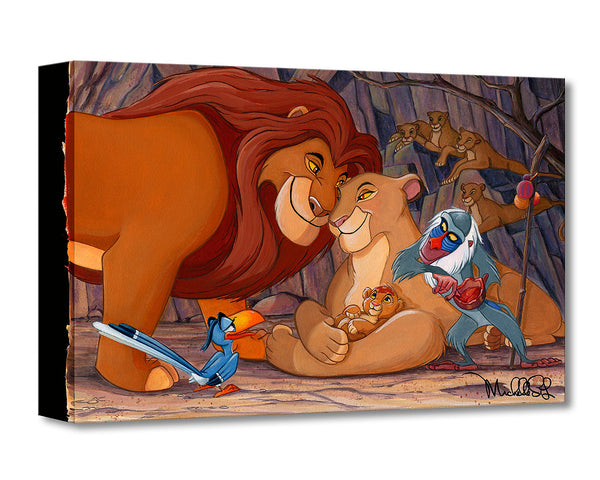 "Michelle St. Laurent Disney ""Prince of the Pride"" Limited Edition Canvas Giclee"