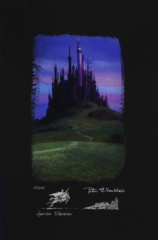 "Peter and Harrison Ellenshaw Disney ""Sleeping Beauty Castle"" Limited Edition Paper"