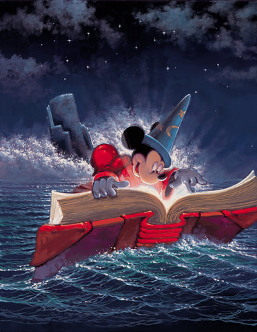"Rodel Gonzalez Disney ""Sorcery"" Limited Edition Canvas Giclee"