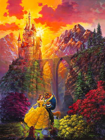 "Rodel Gonzalez Disney ""Spring Dance"" Limited Edition Canvas Giclee"