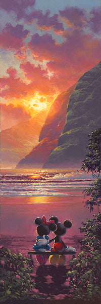 "Rodel Gonzalez Disney ""Sunset Romance"" Limited Edition Canvas Giclee"
