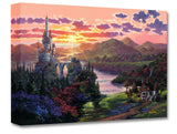 "Rodel Gonzalez Disney ""The Beauty in Beast's Kingdom"" Limited Edition Canvas Giclee"
