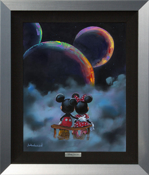 "Jim Warren Disney ""The Planets Aligned"" Limited Edition Canvas Giclee"