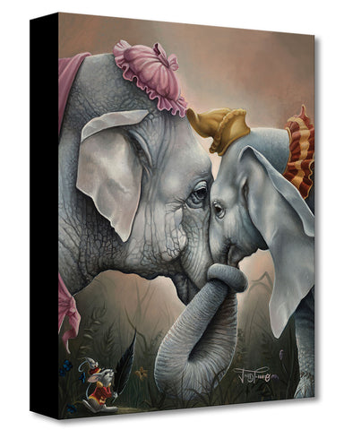 "Jared Franco Disney ""Together at Last"" Limited Edition Canvas Giclee"