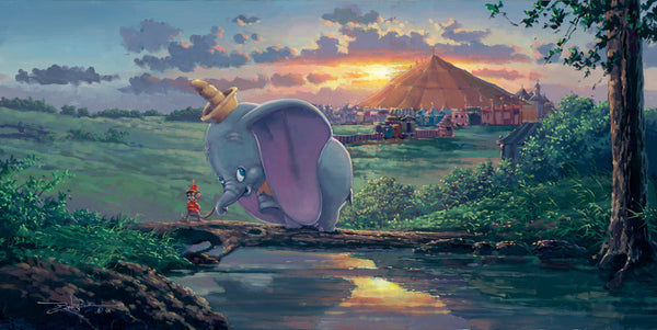 "Rodel Gonzalez Disney ""Unlikely Friends"" Limited Edition Canvas Giclee"