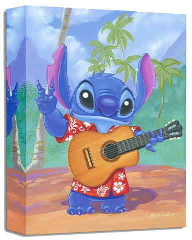 "Manuel Hernandez Disney ""Warm Aloha"" Limited Edition Canvas Giclee"