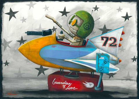 "Fabio Napoleoni ""Guardian of Love"" Limited Edition Paper Giclee"