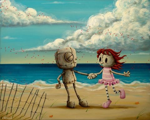 "Fabio Napoleoni ""The Summer Wind "" Gallery Exclusive SN Canvas -16 "" X  20""  Ed of 52"