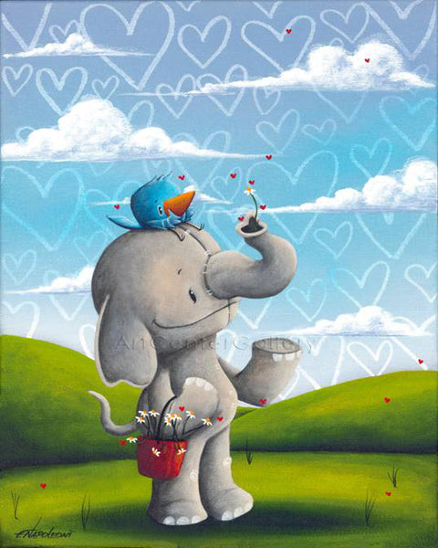 "Fabio Napoleoni ""Beauty Comes from Inside"" Limited Edition Metal"