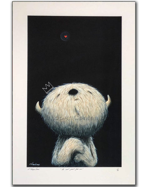 "Fabio Napoleoni ""It's Not Just for Me"" Limited Edition Paper Giclee"