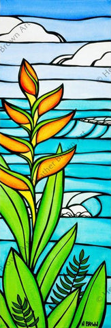 "Heather Brown ""Heliconia Daydream"" Limited Edition Canvas Giclee"
