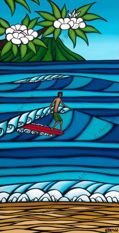 "Heather Brown ""Honolulu Surf"" Limited Edition Canvas Giclee"