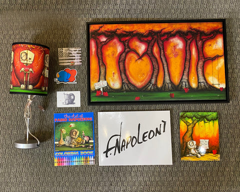 "Fabio Napoleoni ""Fabio Flair Package #8: Love"" Limited Edition"