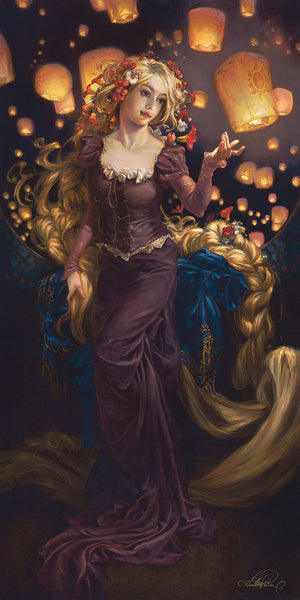 "Heather Theurer Disney ""I See the Light"" Limited Edition Canvas Giclee"