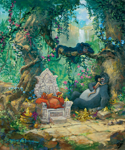 "James Coleman Disney ""I Wanna Be Like You"" Limited Edition Canvas Giclee"