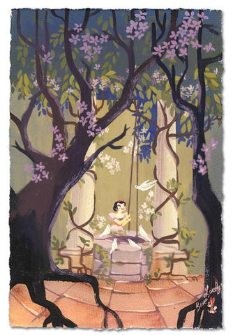 "Lorelay Bové Disney ""I'm Wishing"" Limited Edition Paper Giclee"
