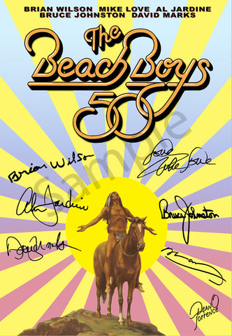 "Dean Torrence ""Beach Boys 50 Years"" Open Edition Metals"