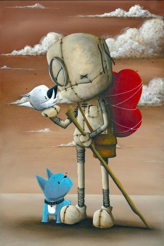 "Fabio Napoleoni ""Into the Great Wide Open"" Limited Edition Canvas Giclee"
