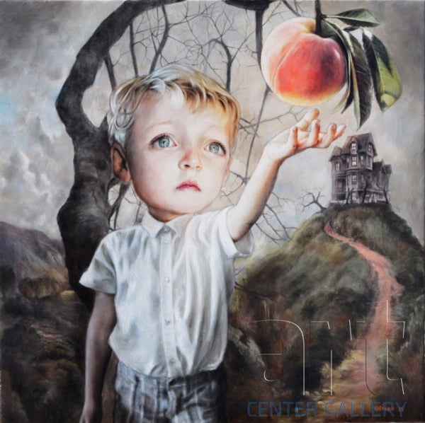 "Richard J. Oliver ""James and the Giant Peach"" Limited Edition Canvas Giclee"