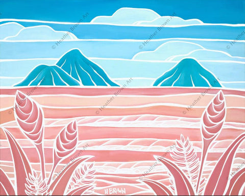 "Heather Brown ""Lanikai Holiday"" Limited Edition Canvas Giclee"