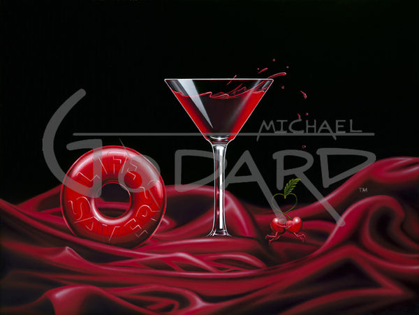 "Michael Godard ""Love Is A Life-Savor"" Limited Edition Canvas Giclee"