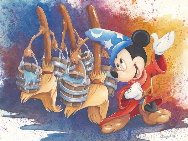 "Michelle St. Laurent Disney ""Magical March"" Limited Edition Canvas Giclee"