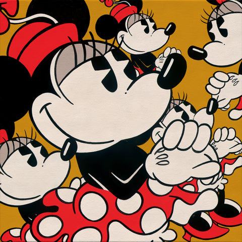 "Trevor Carlton Disney ""Many Minnies"" Limited Edition Canvas Giclee"