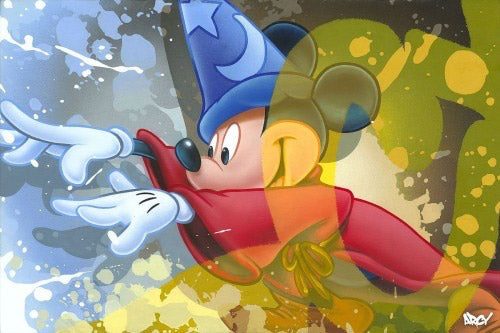 "Arcy Disney ""Mickey Sorcerer"" Limited Edition Canvas Giclee"