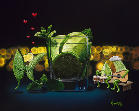"Michael Godard ""Mint to Be"" Limited Edition Canvas Giclee"