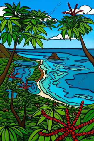 "Heather Brown ""Moli'i Fishpond"" Limited Edition Canvas Giclee"
