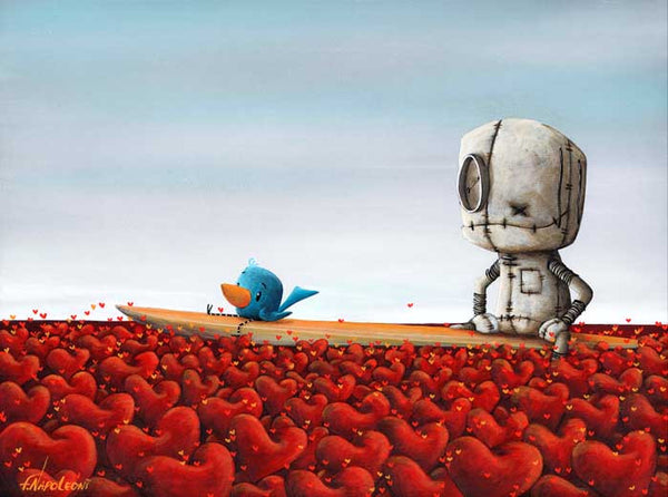 "Fabio Napoleoni ""The Right One Will Come Along"" Limited Edition Paper Giclee"
