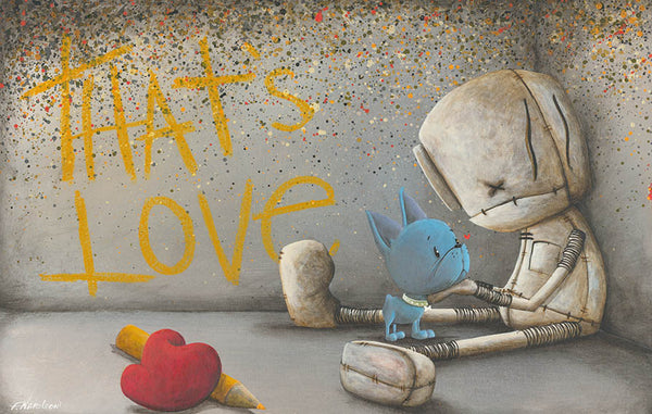 "Fabio Napoleoni ""Unbound Affection"" Limited Edition Paper Giclee"