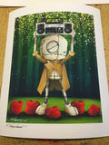 "Fabio Napoleoni ""In Your Eyes"" Paper Giclee"