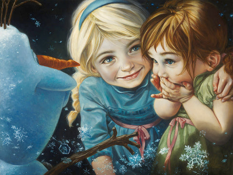 "Heather Theurer Disney ""Never Let It Go"" Limited Edition Canvas Giclee"