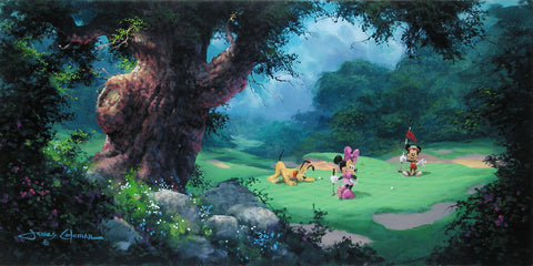 "James Coleman Disney ""On the Green"" Limited Edition Canvas Giclee"