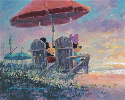 "James Coleman Disney ""Our Sunset"" Limited Edition Canvas Giclee"