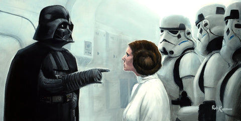 "Rob Kaz Star Wars ""Take Her Away"" Limited Edition Canvas Giclee"