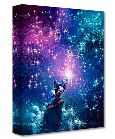 "Rodel Gonzalez Disney ""Sorcerer Mickey"" Limited Edition Canvas Giclee"