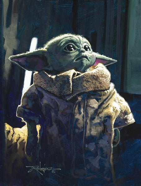 "Rodel Gonzalez Star Wars ""The Child"" Limited Edition Canvas Giclee"